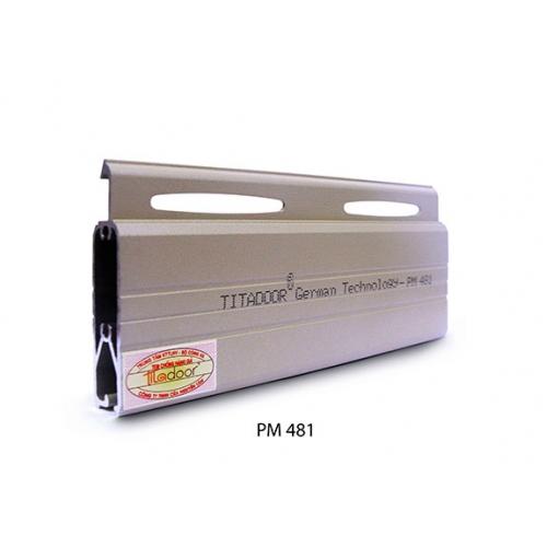 Cửa cuốn khe thoáng - PM481K