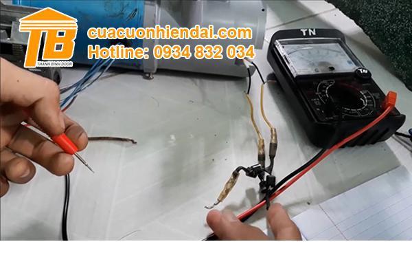 Hướng dẫn cách đấu điện cho motor cửa cuốn